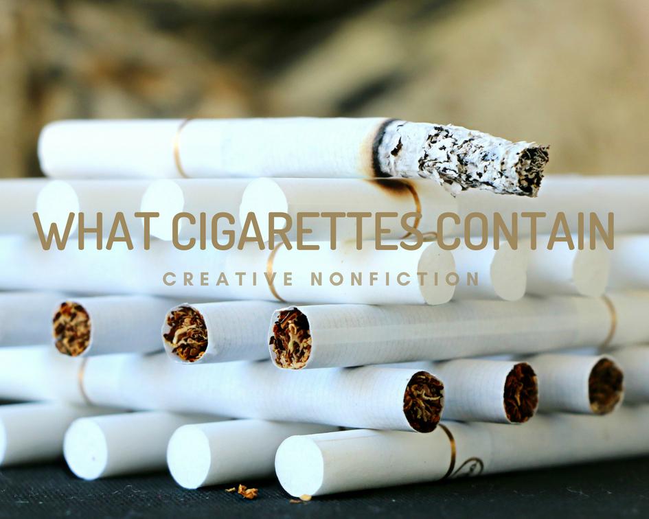 cigarettes, smoking